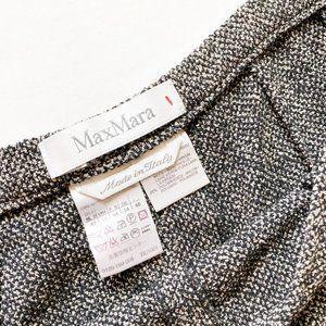 MaxMara Pants & Jumpsuits - MaxMara Wool Side Button Trouser Pants Size 12